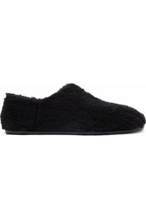 Maison Margiela Textured-finish flat-sole slippers