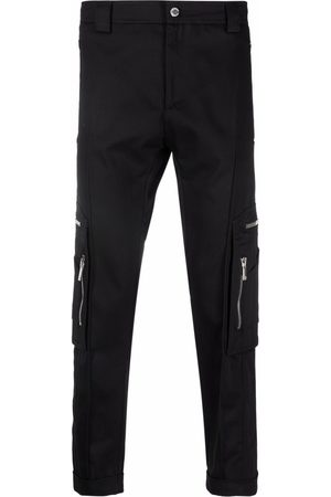 Les Hommes Zip-pocket straight-leg trousers