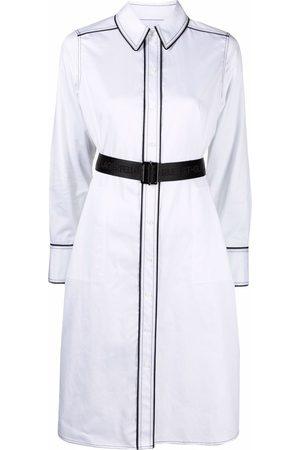Karl Lagerfeld Ženy Volnočasové - Contrast-detail shirt dress