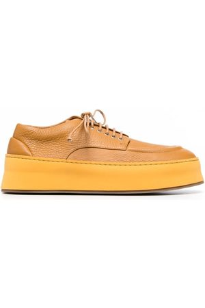 MARSÈLL Cassapana leather derby shoes