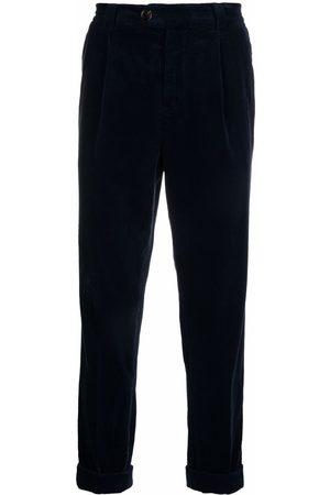 Brunello Cucinelli Muži Rovné nohavice - Corduroy straight-leg trousers