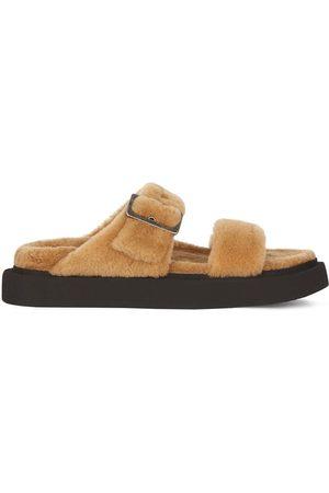 Giuseppe Zanotti Furry Him sandals