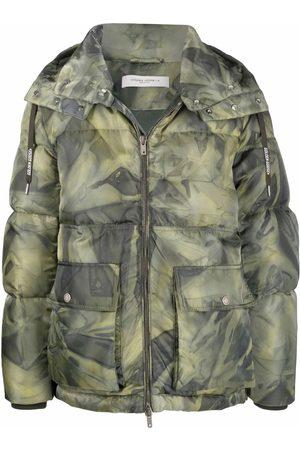 Golden Goose Camouflage-print padded coat