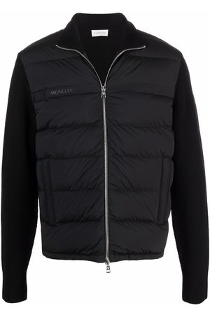 Moncler Padded-front zipped cardigan