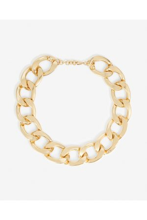 The Kooples Golden metal necklace with large links