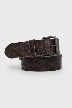 Pepe Jeans Kožený pásek Bertrand