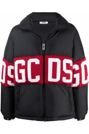 GCDS Logo-print puffer jacket