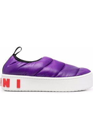 Marni Padded platform sneakers
