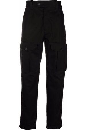 Alexander McQueen Slim-cut cargo trousers