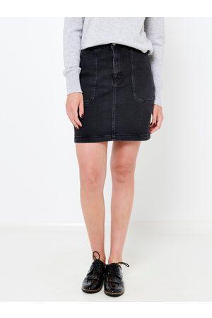 Camaïeu Černá džínová sukně