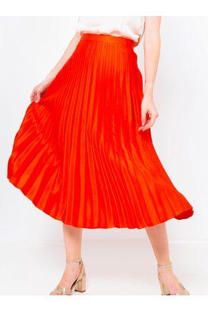 Camaïeu Plisovaná midi sukně