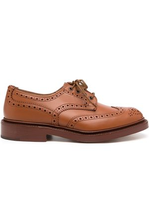 TRICKERS Lace-up leather brogues