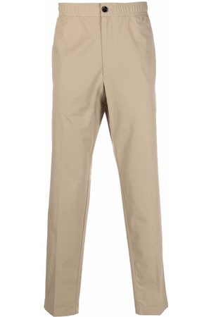 THEORY Mid-rise slim-fit trousers