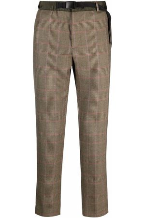 PT01 Check tailored trousers