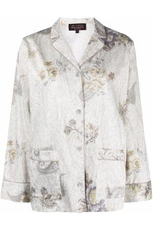 ETRO HOME Floral-print pajama set