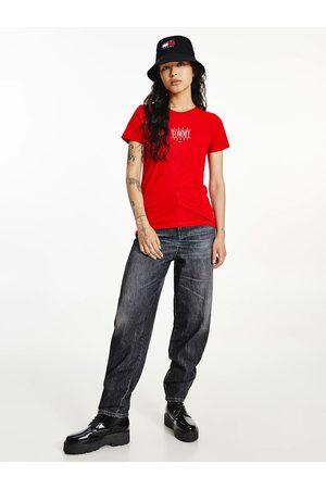 Tommy Hilfiger Ženy Trička - Dámské červené triko