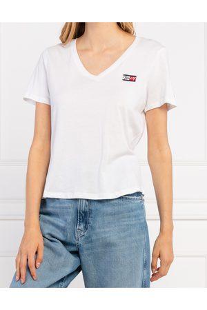 Tommy Hilfiger Ženy Trička - Dámské bílé triko