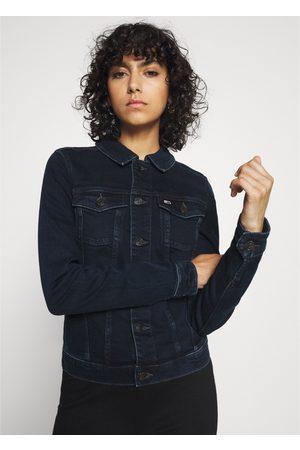 Tommy Hilfiger Ženy Džínové bundy - Dámská tmavě džínová bunda