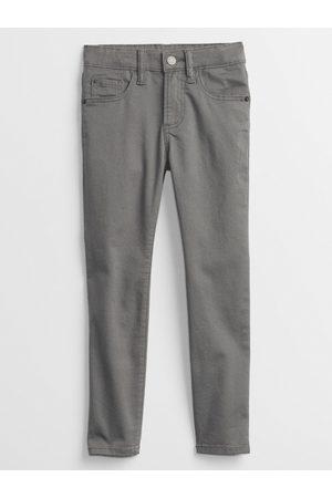 GAP Šedé klučičí dětské kalhoty skinny fit jeans