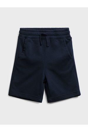 GAP Modré klučičí dětské kraťasy jogger shorts