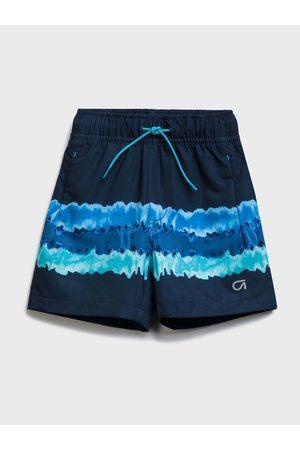 GAP Modré klučičí dětské kraťasy quick dry shorts