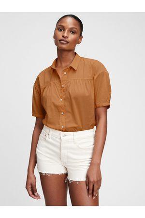 GAP Dámská košile shirred top
