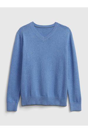 GAP Modrý klučičí dětský svetr uniform