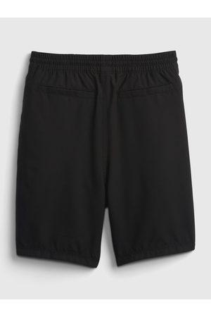 GAP Černé klučičí dětské kraťasy liner shorts