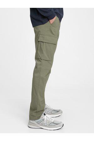 GAP Zelené pánské kalhoty easy cargo pants
