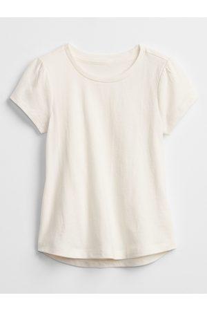 GAP Béžové holčičí dětské tričko mix and match swing t-shirt