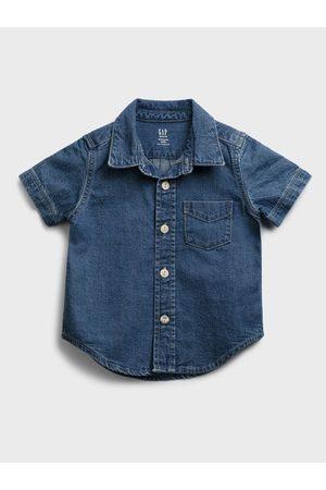 GAP Klučičí dětská košile denim shirt