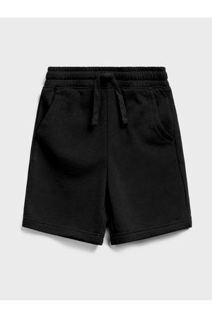 GAP Černé klučičí dětské kraťasy jogger shorts