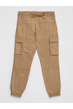 GAP Béžové pánské kalhoty cargo joggers