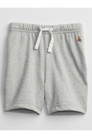GAP Šedé klučičí dětské kraťasy brannan bear pull-on shorts