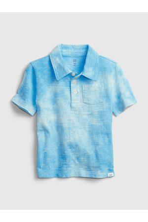 GAP Modré klučičí dětské polo tričko shirt