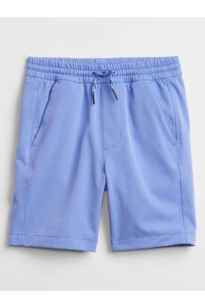 GAP Modré klučičí dětská kraťasy tech pull-on shorts
