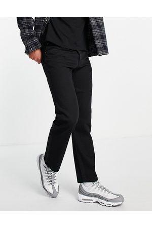 Topman Muži Rovné nohavice - Straight jeans in black