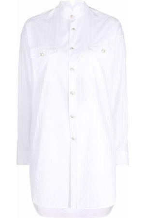 Etro Ženy S dlouhým rukávem - Asymmetric long-sleeved shirt