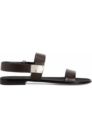 Giuseppe Zanotti Shaun flat sandals
