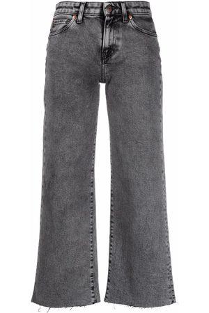 3x1 Cropped wide-leg jeans
