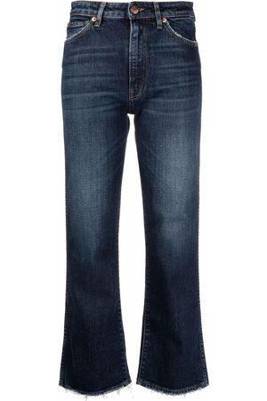 3x1 Farrah cropped wide-leg jeans