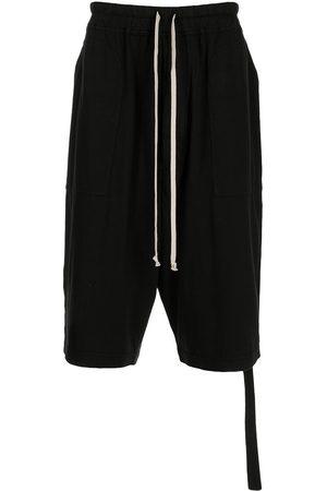 Rick Owens Muži Kraťasy - Drop-crotch track shorts