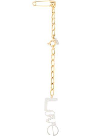 WOUTERS & HENDRIX Ženy Náramky - Paperclip chain-link brooch