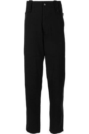 YOHJI YAMAMOTO Muži Rovné nohavice - High-waisted straight-leg trousers