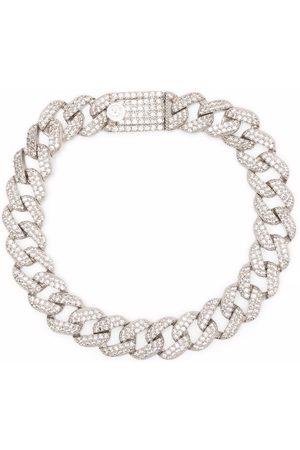 númbering Pave link bracelet