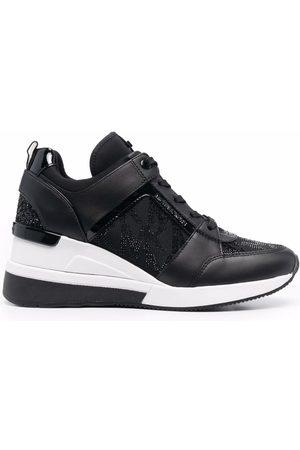 Michael Kors Ženy Na platformě - Georgie wedge heel sneakers