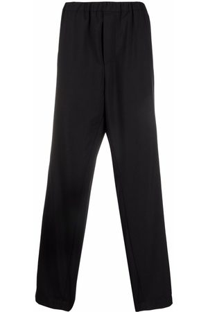 OAMC Muži Rovné nohavice - Drop-crotch straight trousers