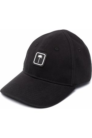 Palm Angels PXP CLASSIC CAP BLACK WHITE