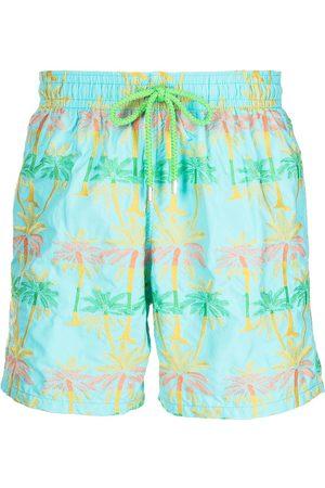 Vilebrequin Palm tree print swim shorts