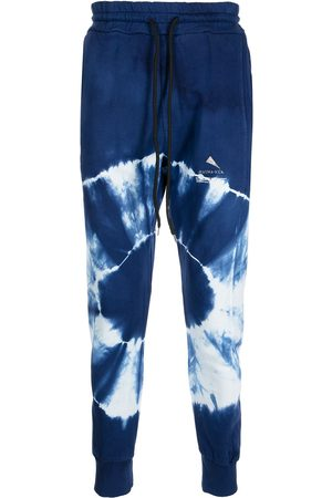 MAUNA KEA Drawstring tie-dye tracksuit bottoms